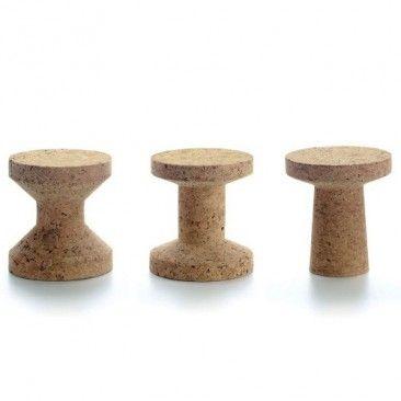 cork side table