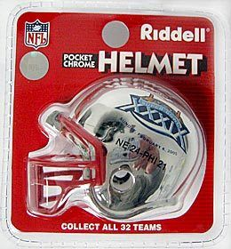New England Patriots Super Bowl 39 Winner Chrome Pocket Pro
