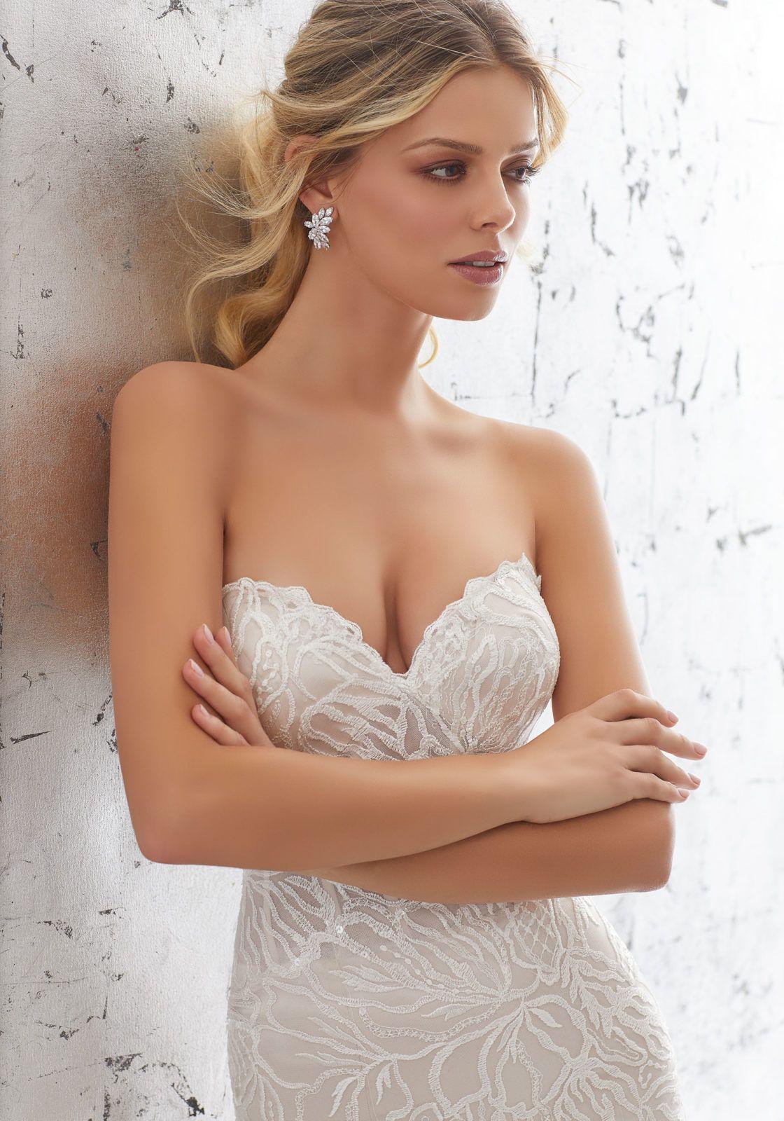 Mori lee madeline gardner wedding dress  Lorelei Wedding Dress  AF Couture Fall u  Morilee by Madeline