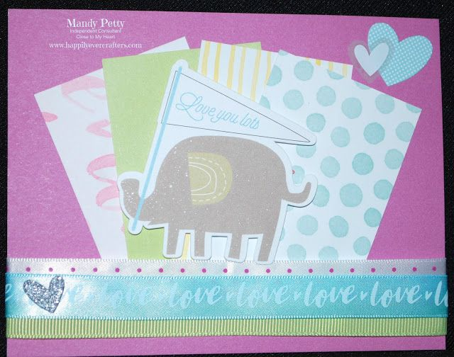 Whimsy Fundamentals - Close to My Heart - Designed by Mandy Petty - CTMH - Baby Boy Complements - Whimsy Ribbon Pack