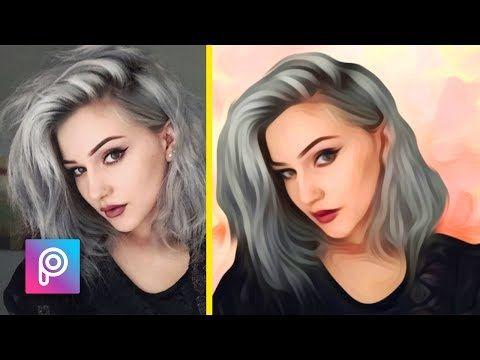 Cara Edit Foto Menjadi Lukisan Dengan Picsart Picsart Tutorial Indonesia Youtube Pengeditan Foto Lukisan Youtube