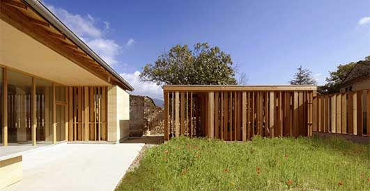 French Residential Building - design by Carl Fredrik Svenstedt