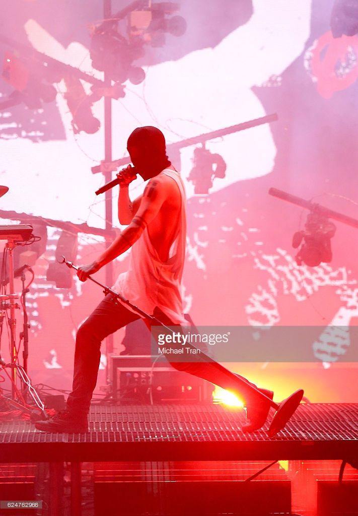 Recording artist Tyler Joseph of Twenty One Pilots performs