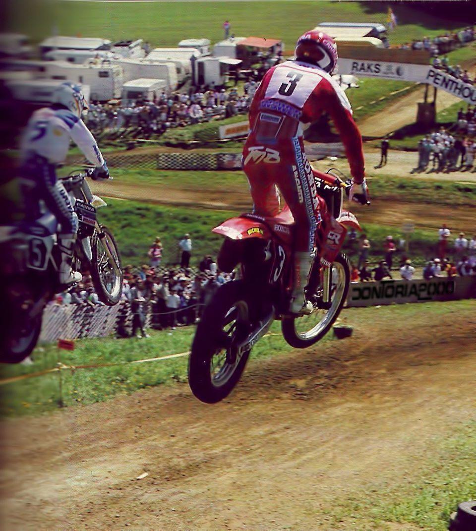 Jmb # 3 # Honda # world champion # motocross