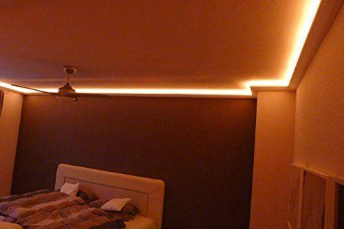 BENDU - Moderne und klassische LED Stuckleisten bzw Lichtvouten für - wohnzimmer beleuchtung indirekt