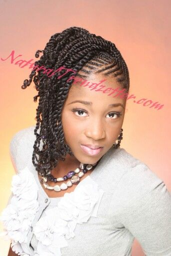 two strand twist combo natural