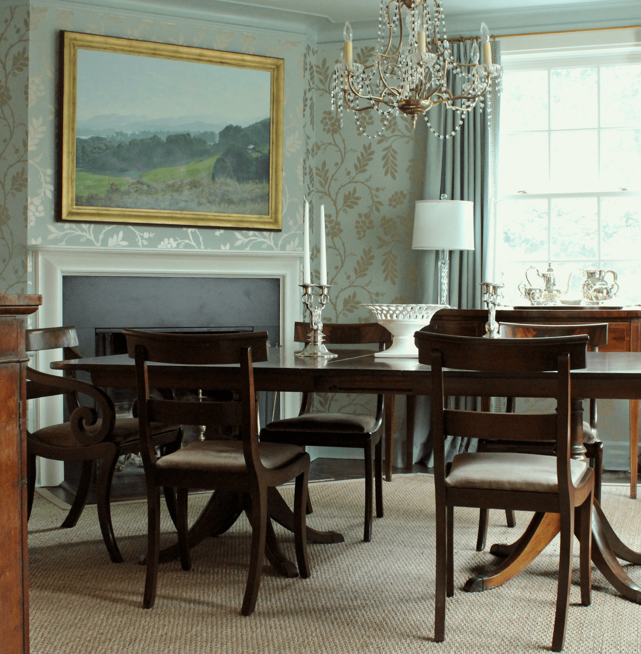 32 Elegant Ideas For Dining Rooms: A Home For Elegant Entertaining Yet Durable For A Family