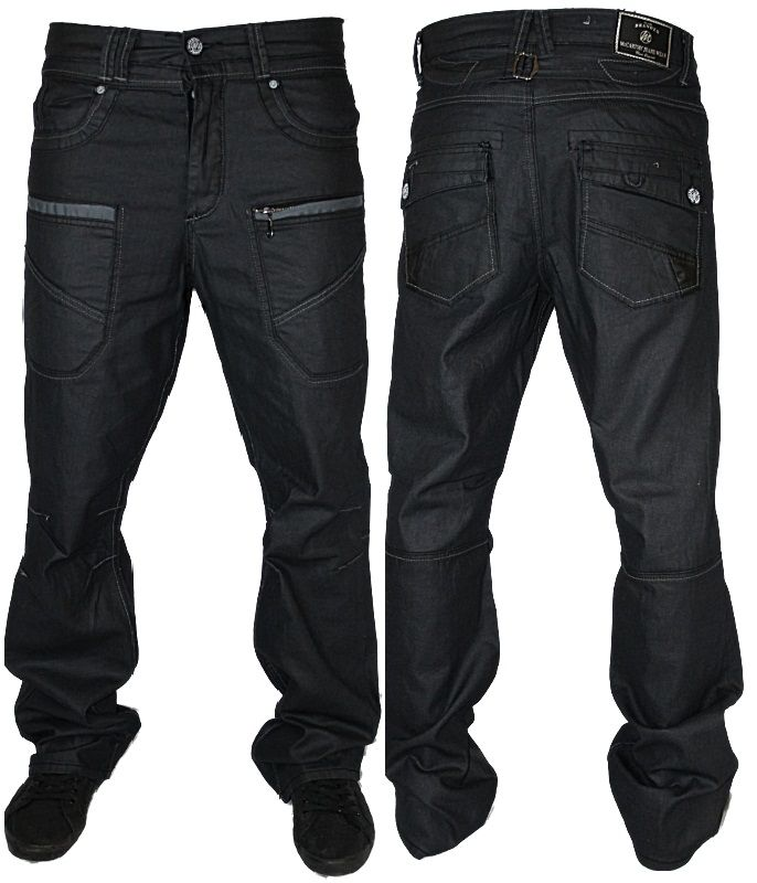 f62506eaf47 New mens dark mccarthy designer loose fit denim jeans all waist and ...