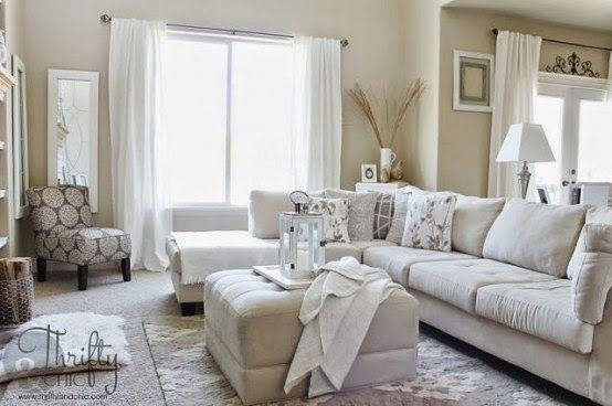 Chic Elegance Of Neutral Colors For The Living Room 10 Amazing Examples: Fantasy: Living Room Designs