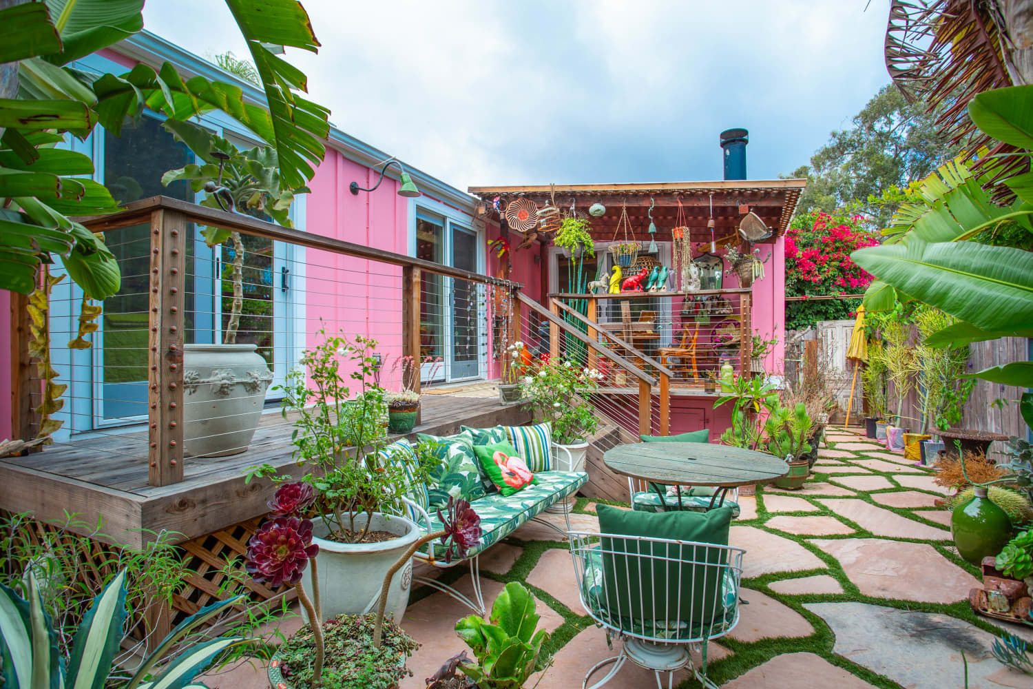 Betsey johnsons malibu mobile home is just as wild and