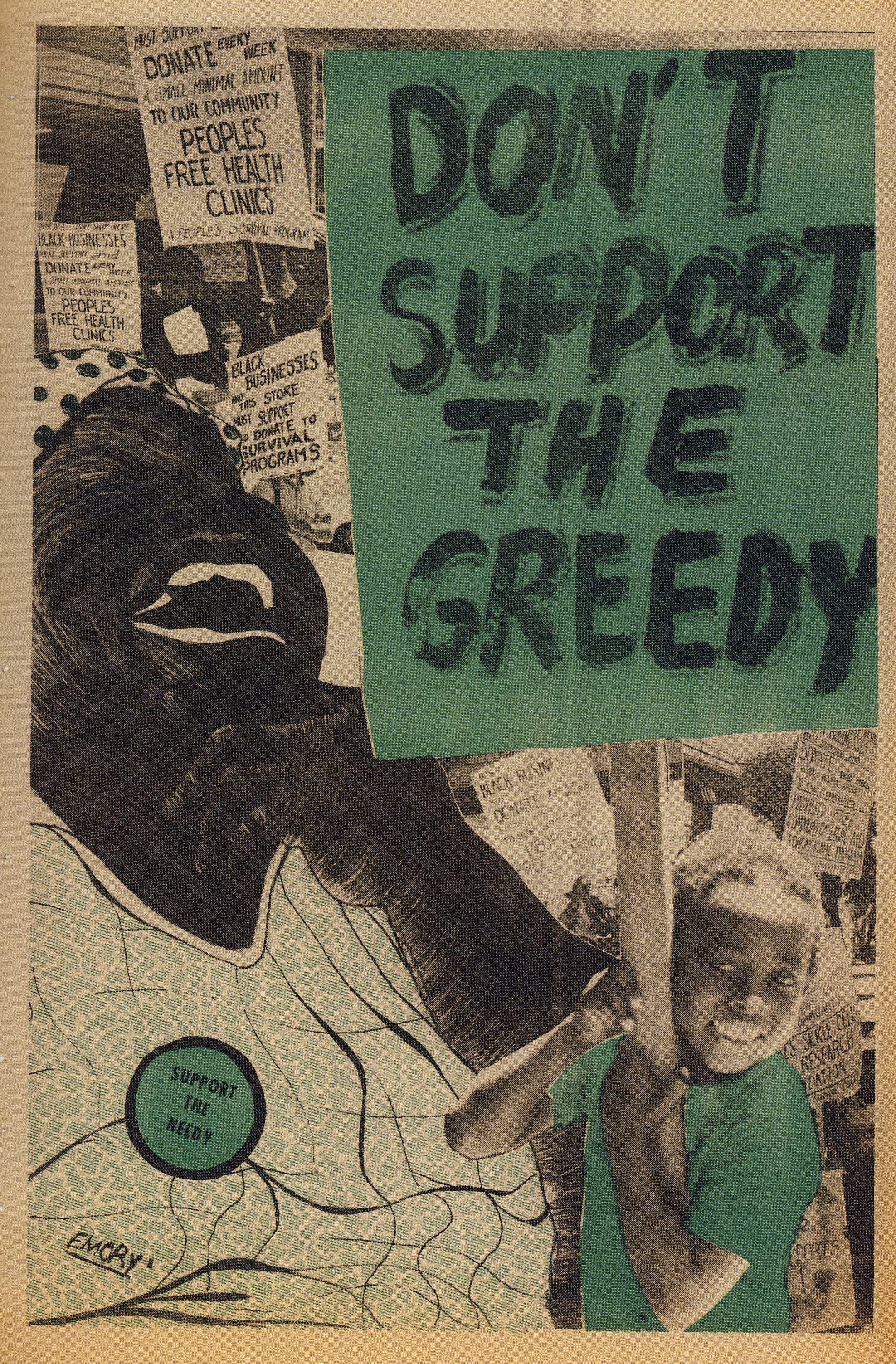 Emory Douglas Emory douglas, Political posters, Black