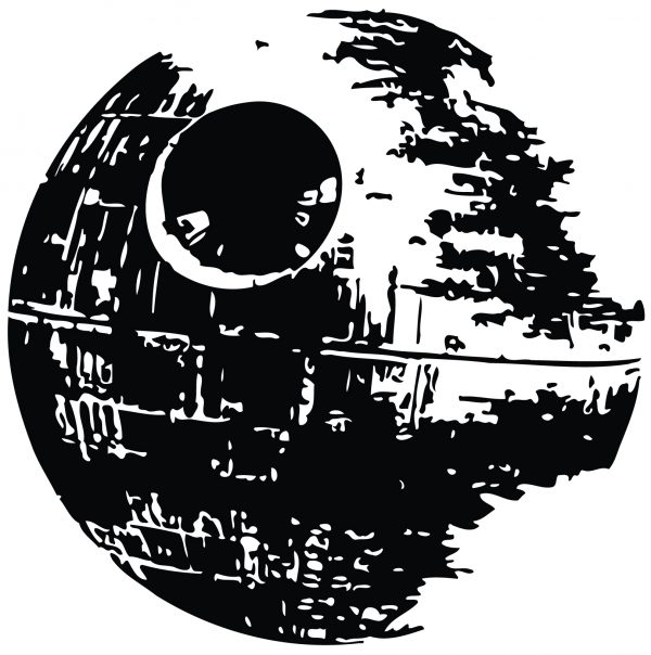 You Searched For Death Star Star Wars Gifts Star Wars Stencil Star Wars Death Star Decal Star Wars Silhouette