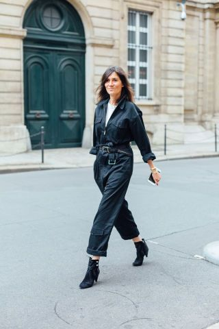 30 gorgeous street style images from the first day of this week's Couture Week in Paris for all your outfit inspiration: