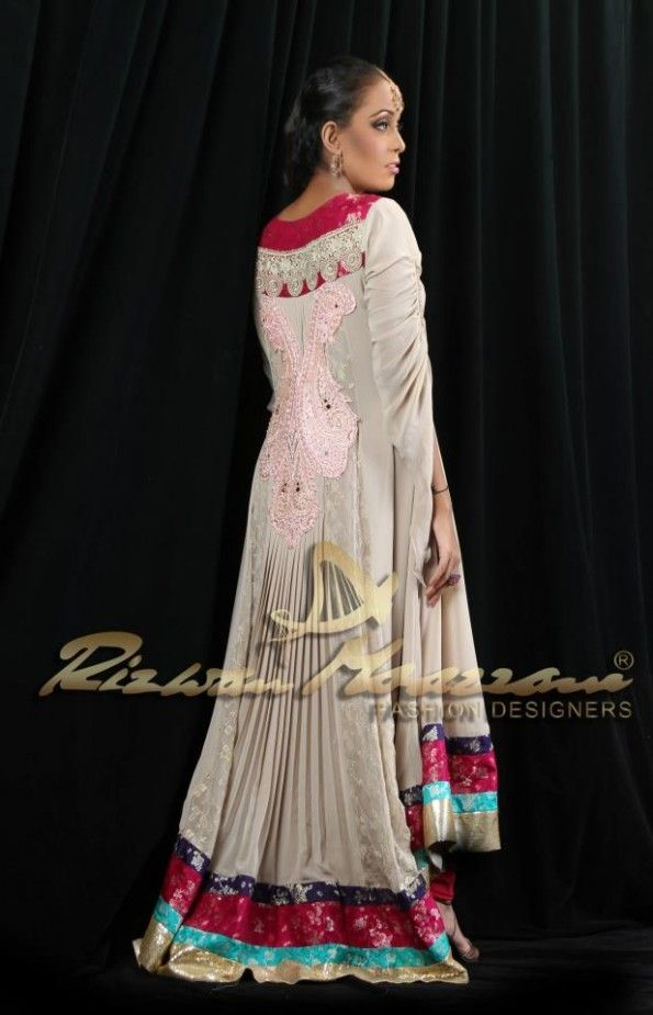 086082dd9ee9 New Beautiful Eid Party Wear Collection For Ladies 2013-14 (14 ...