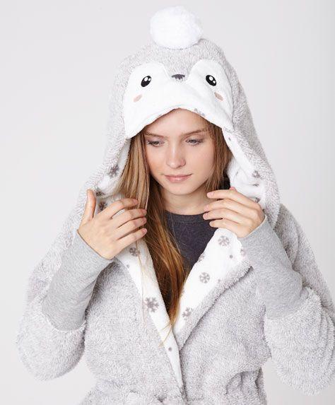 negozio online 6ecca 57d98 vestaglia #oysho #pinguino | My fashion wishlist ♥