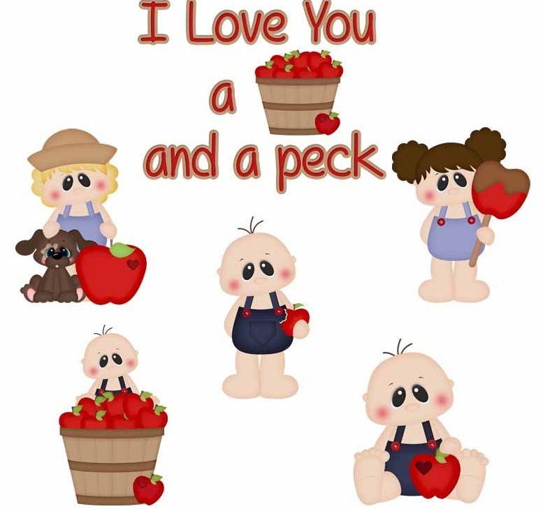 Download I Love You A Bushel & A Peck Kids | My love, Paper piecing