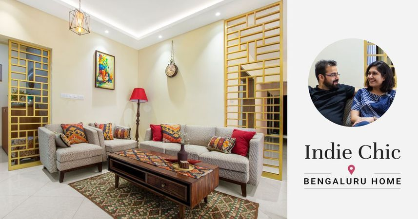 An Inviting 3bhk For A Charming Couple In 2020 Contemporary House Design Interior Design House Interior
