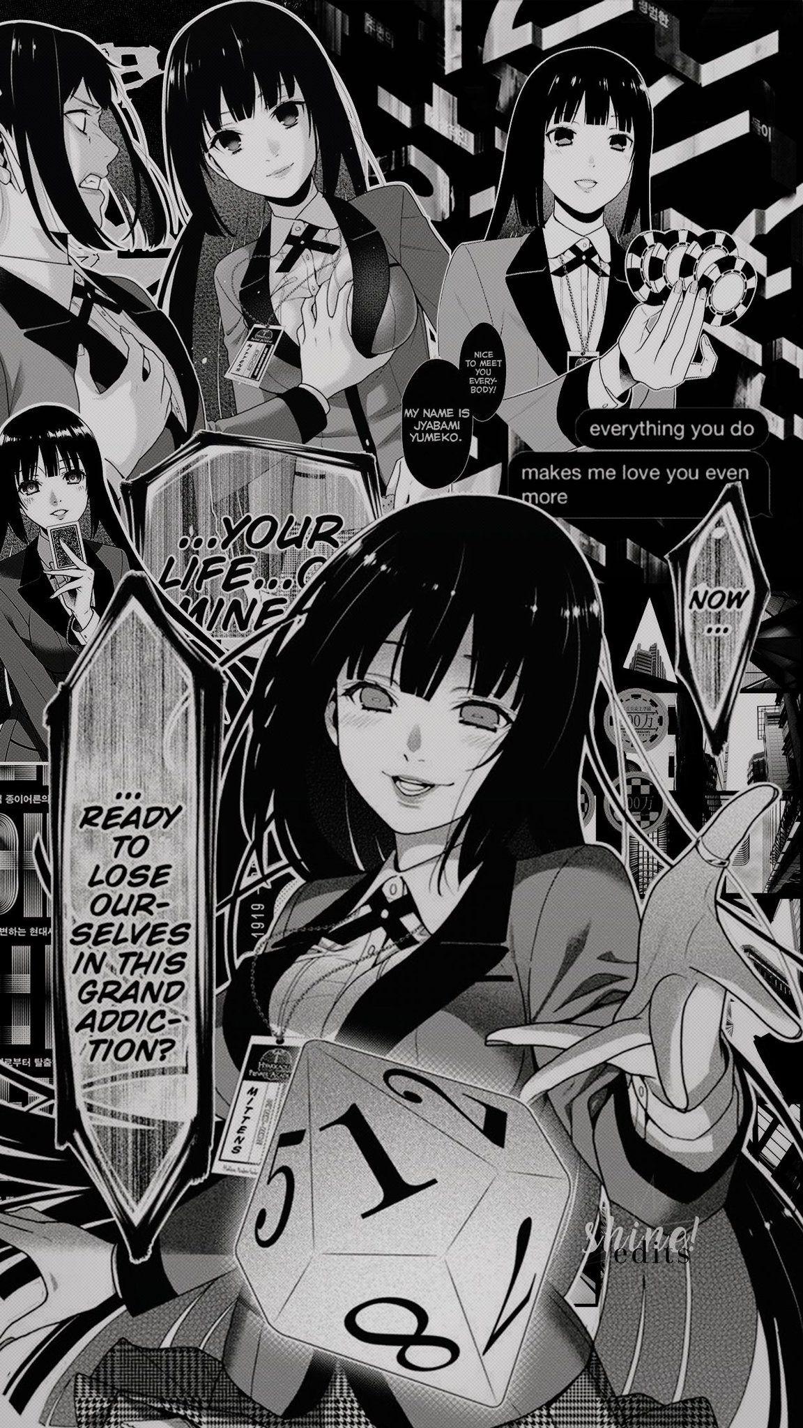 Jabami Yumeko Anime Wallpaper Anime Wallpaper Iphone Anime Art Cute anime manga wallpaper