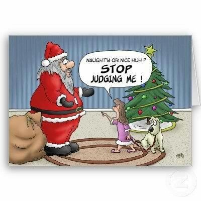 Stop judging me father christmas santa claus christmas humor here in this time we bring you the selection of best funny christmas greeting cards to make you happy and enjoy sending your christmas wishes for loved m4hsunfo