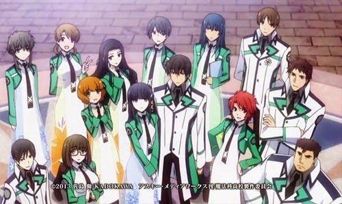 Animes Mendola Mahouka Koukou No Rettousei Menina Estudante