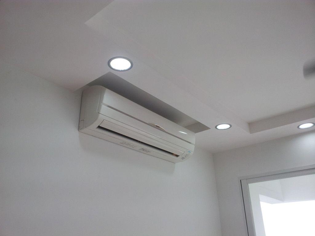 Image result for ac split unit in false ceiling false