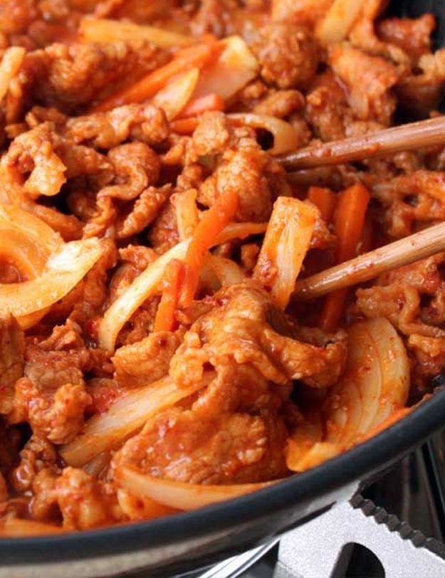 14 Spicy Recipes That Are Packing Some Heat | Pork bulgogi ...