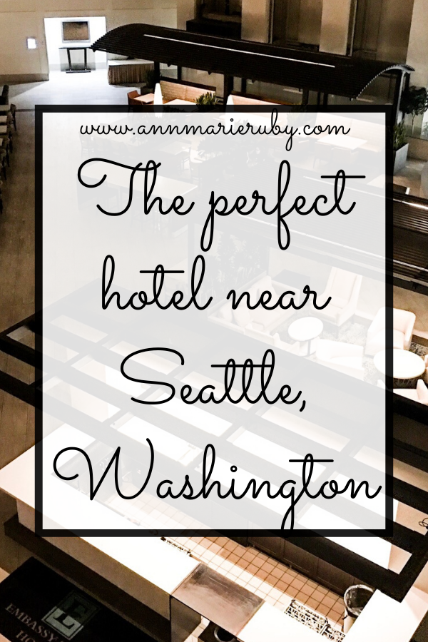 This is one of the best hotels in the Greater Seattle area! #hotels #Seattle #travel #traveling #WAstate #WashingtonState
