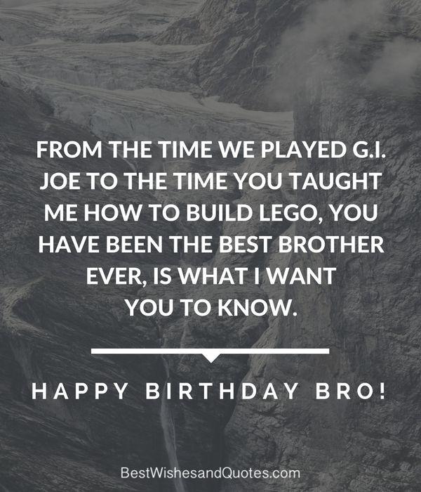 Happy Birthday Brother: 41 Unique Ways To Say Happy