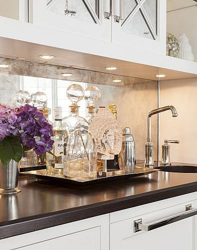 Image Result For Smoke Antique Sheet Mirror Backsplash Bar Kitchen Mirror Mirror Backsplash Kitchen Antique Mirror Backsplash