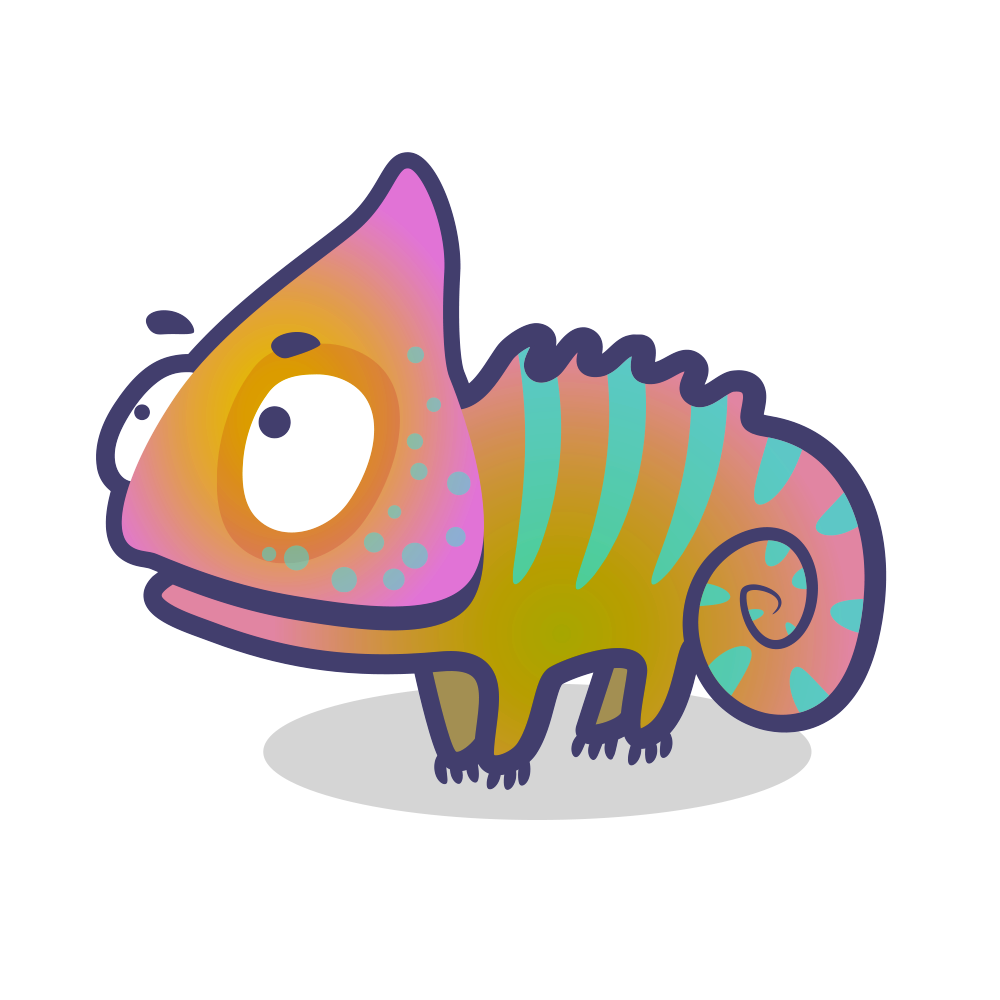 Lizard on Behance