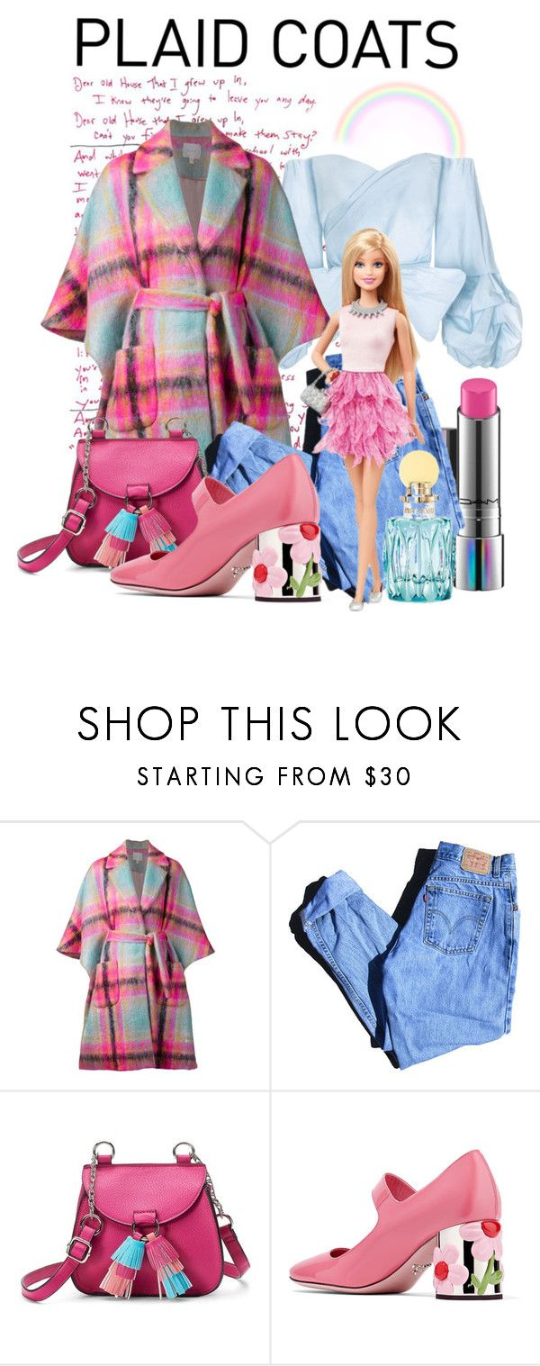 """""""Barbie's style"""" by cinderella-slipper ❤ liked on Polyvore featuring Delpozo, Levi's, Candie's and Prada"""