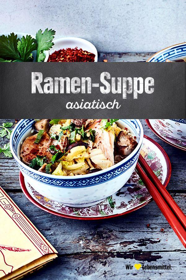 Asiatische Ramen-Suppe