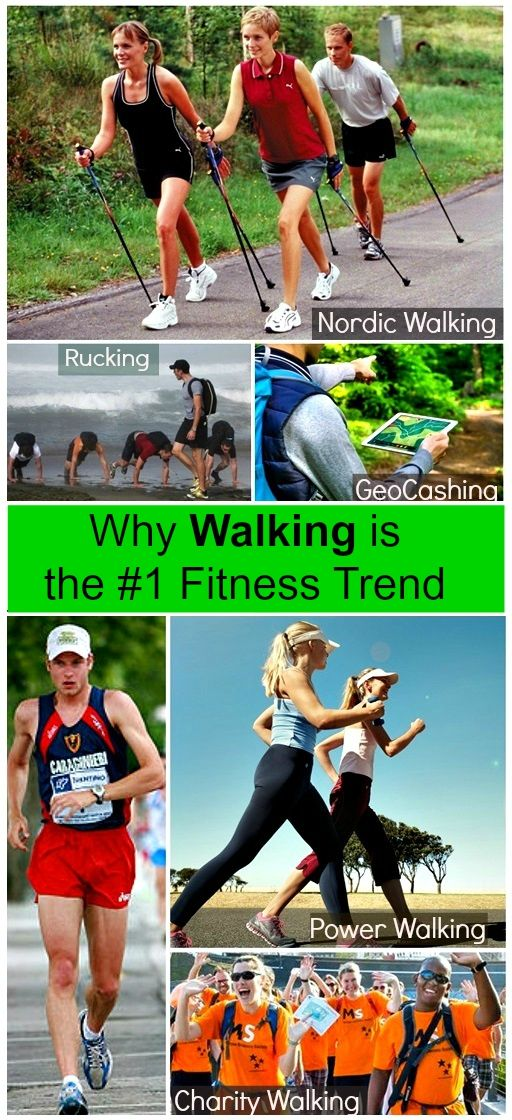 Why walking is the #1 Fitness Trend. Here are some of the ...