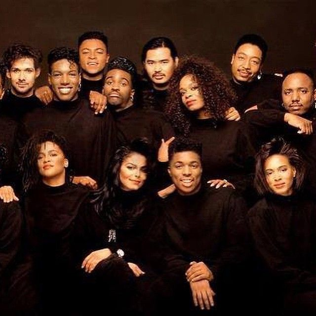 We are a part of the #RhythmNation #JanetJackson @lavellesmithjr