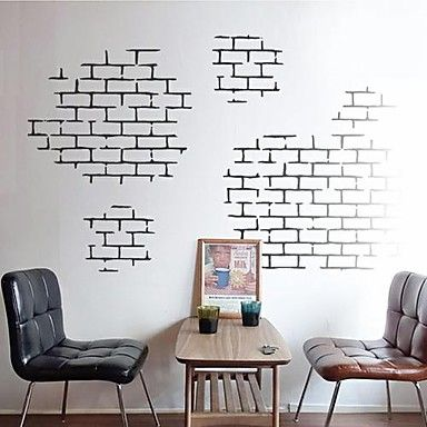 still life shapes architecture wall stickers plane wall stickers