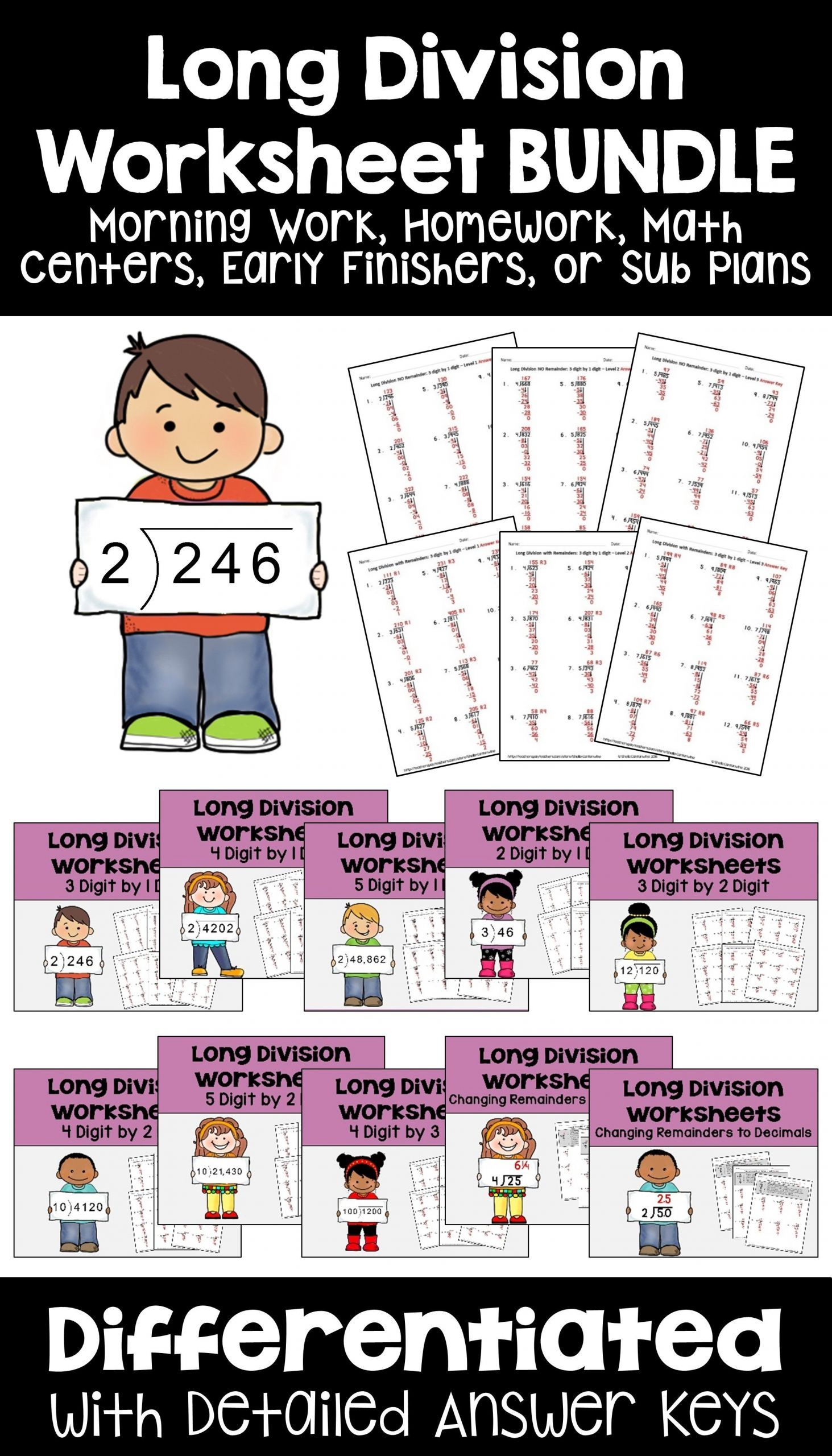 13 Inspiring 4th Math Worksheets Di