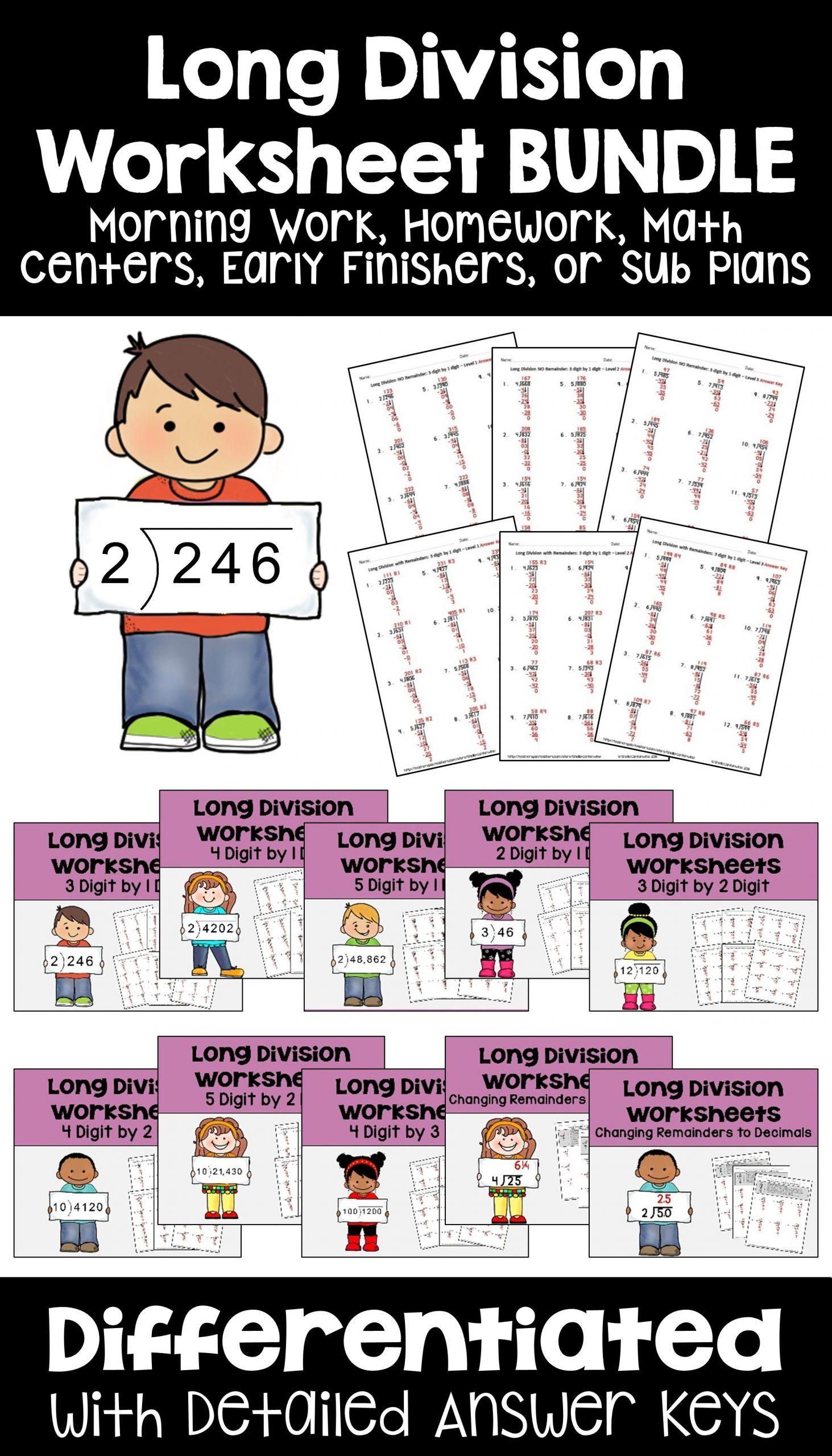 13 Inspiring 4th Math Worksheets Di