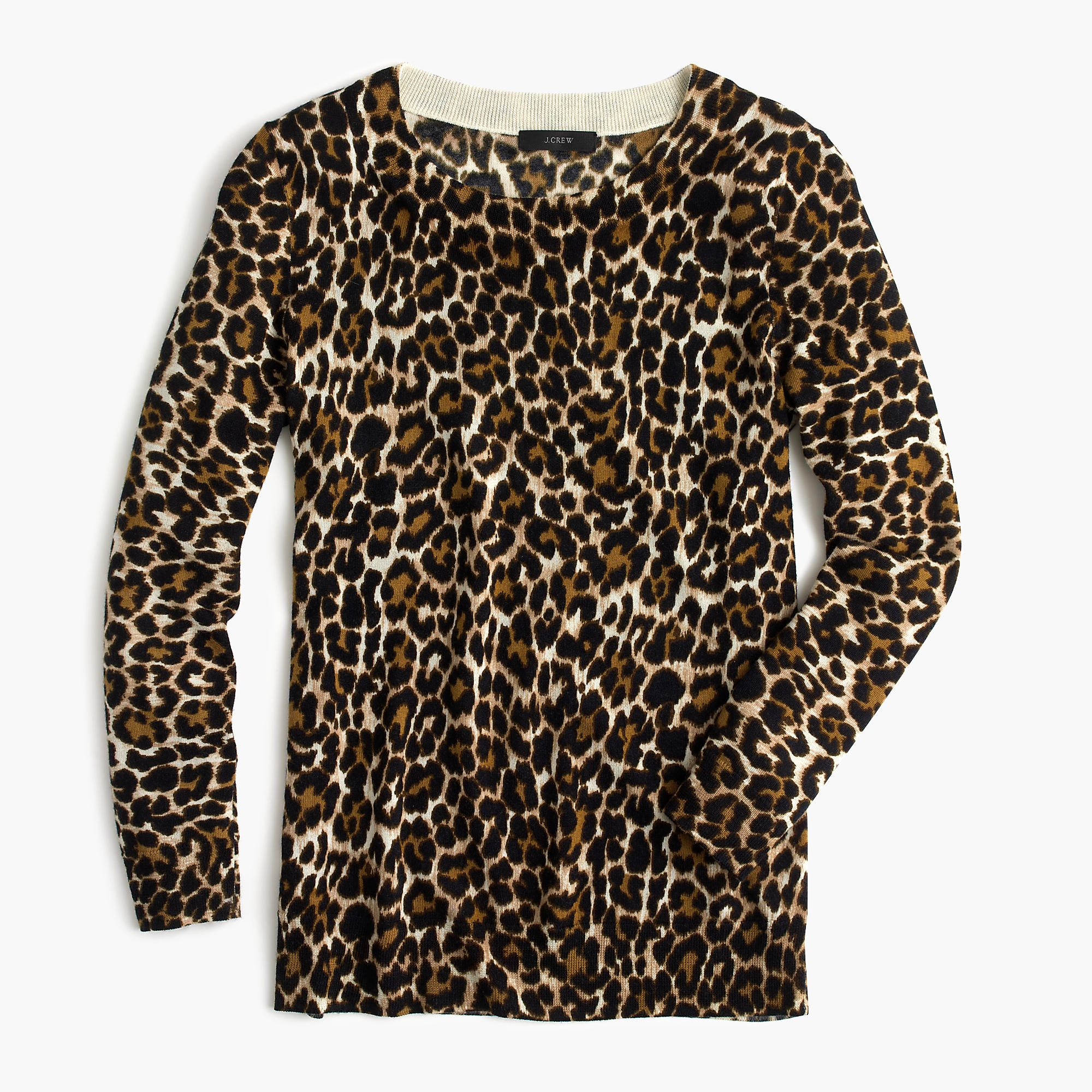 J.Crew - Tippi sweater in leopard print | stuff and things ...