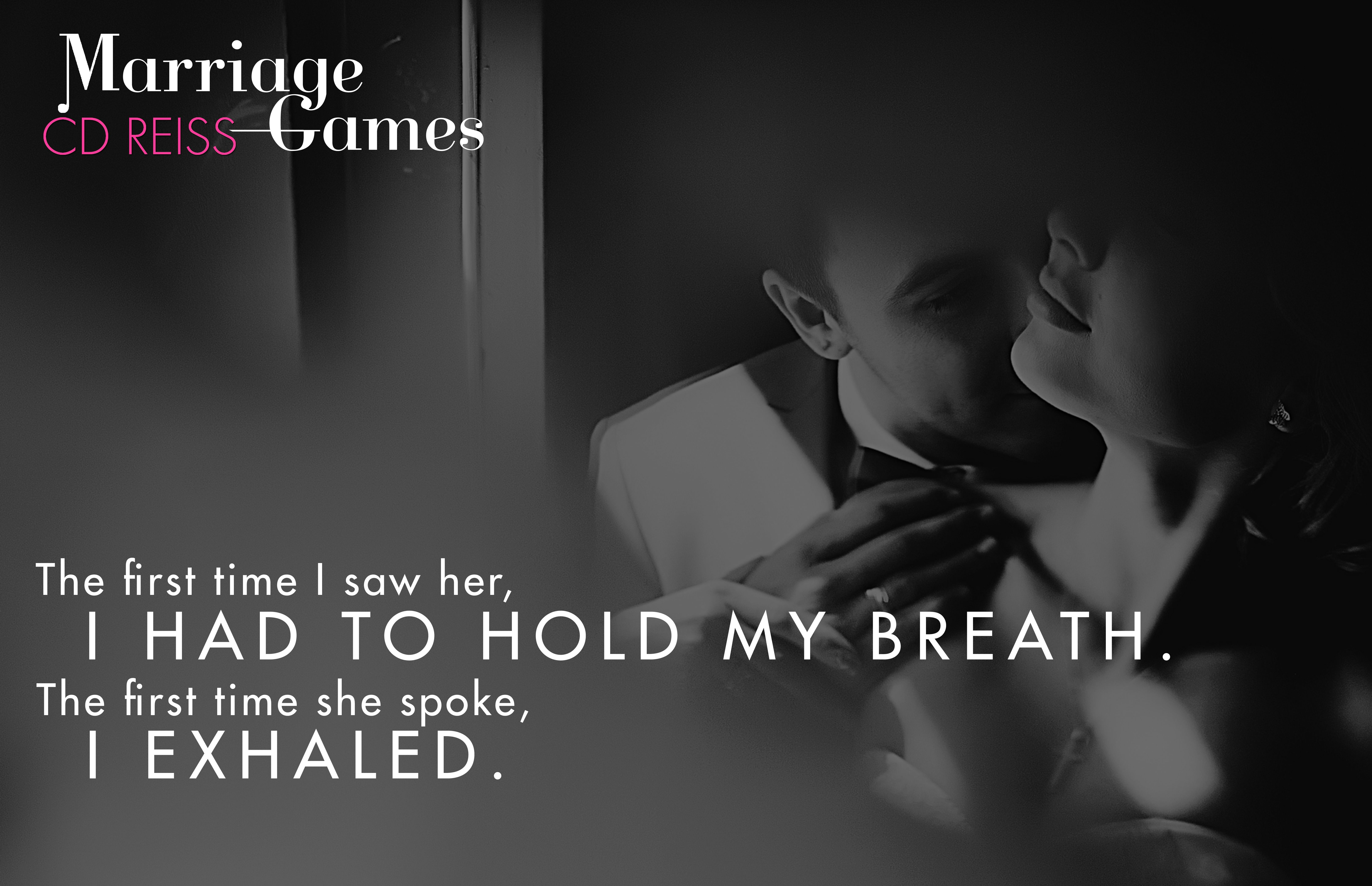 Marriage Games by CD Reiss Games Duet # 1 Release Date: October 25th ...