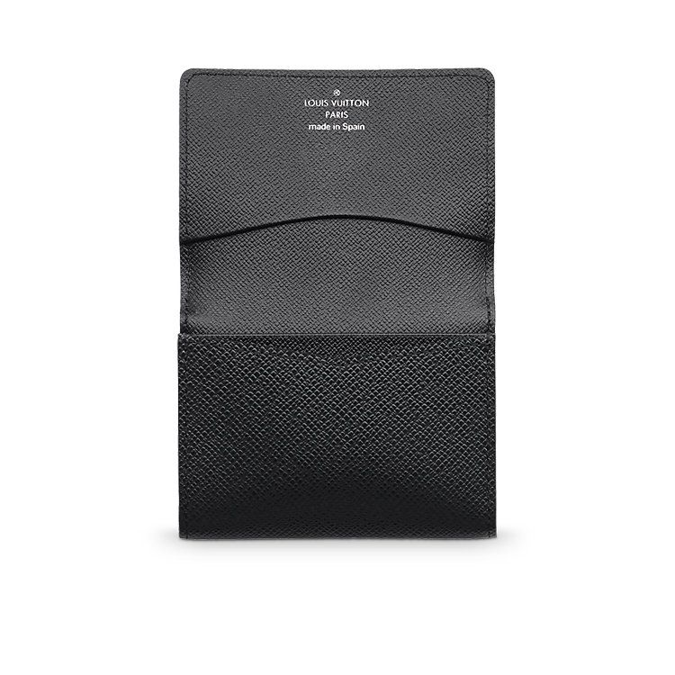 Business Card Holder - Taiga Leather - one of the few Vuitton items I would own.