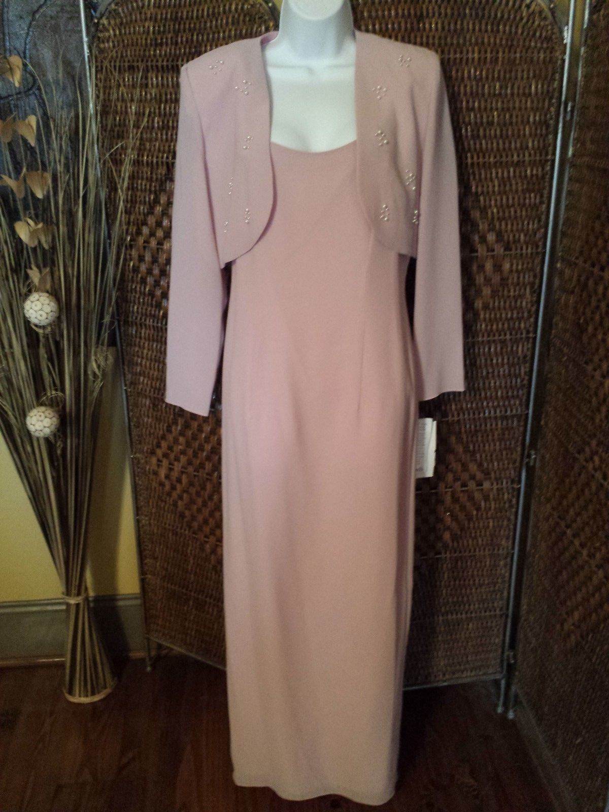 Nwt after dark formalmother of the bride pcdress size think