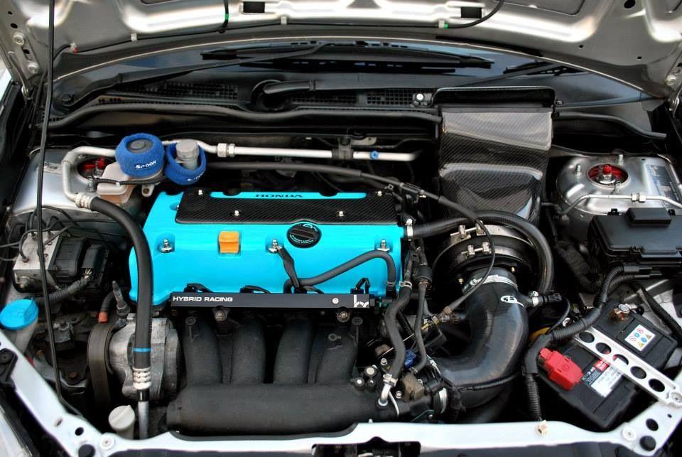 Honda Civic Ep3 K20a2 Tegiwa M Carbon Air Box Black Sfs Intake Hose Hybrid Racing 70mm Throttle Body Rbc Inlet Manifold Fuel Rail Turquoise