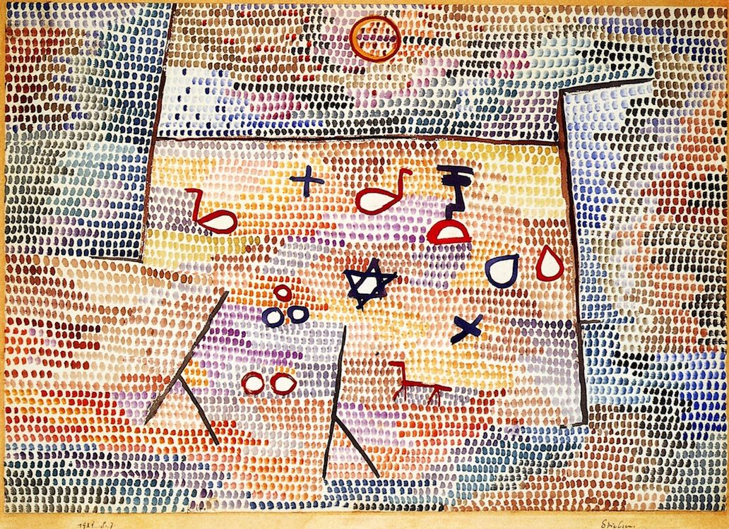 Toy - Paul Klee  1931 Watercolor  44.1 x 63.5cm