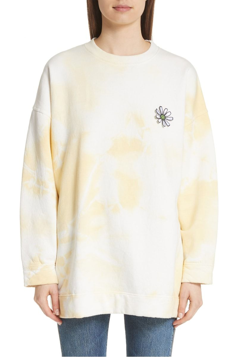 Ganni Stonecrop Isoli Sweatshirt Nordstrom Women Clothes Sale Sweatshirts Sweatshirts Online [ 1197 x 780 Pixel ]