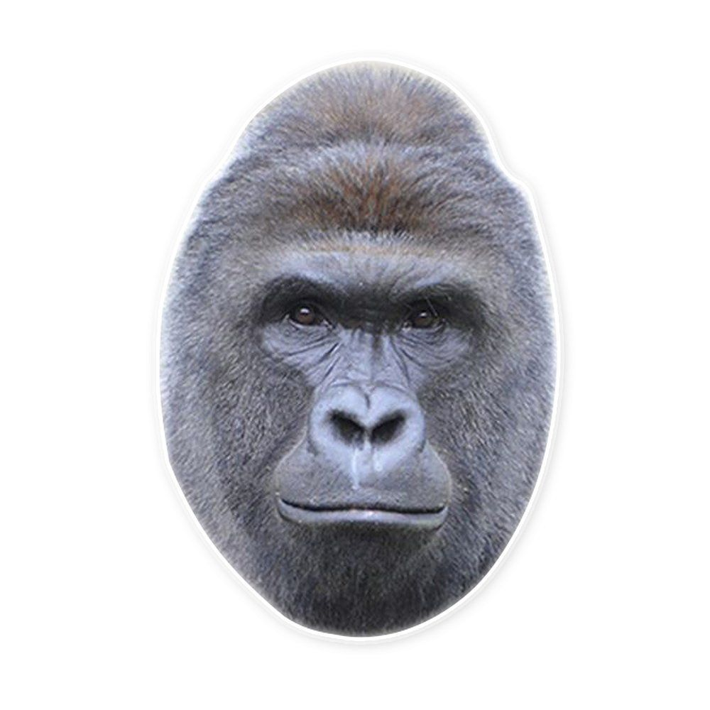 amazon com harambe the gorilla mask by rapmasks 15