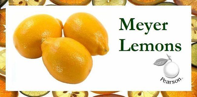 Meyer Lemons With Images Meyer Lemon Lemons Juicy