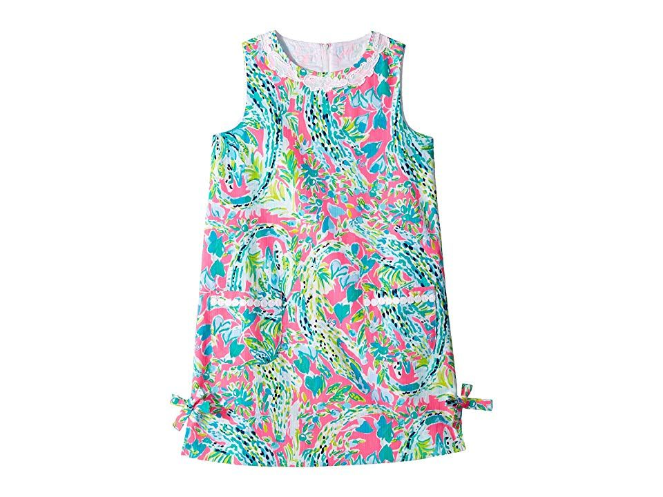 ce9e85552 Lilly Pulitzer Kids Little Lilly Classic Dress (Toddler/Little Kids/Big Kids)  (Multi Snapback) Girl's Dress. What's cuter than the Lilly Pulitzer Kids ...