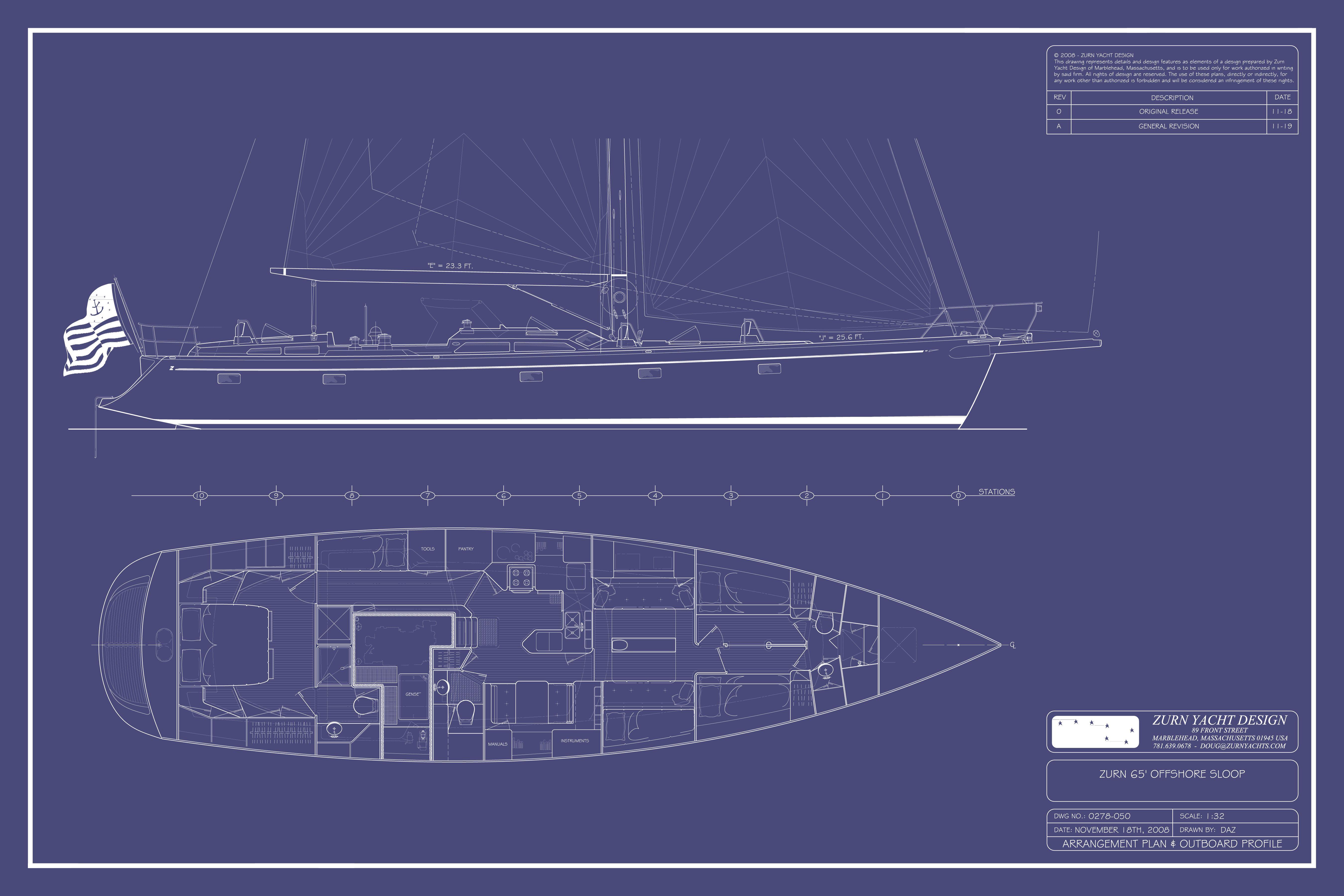 Design 0278 - Zurn 65   Zurn Yacht Design