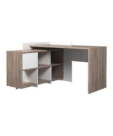 Look at this #zulilyfind! Watson Desk & Six-Shelf Bookcase #zulilyfinds