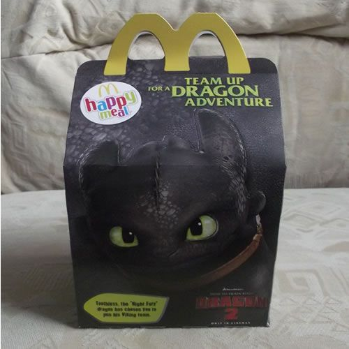 How To Train Your Dragon 2 Mcdonalds Happy Meal Toys Uk